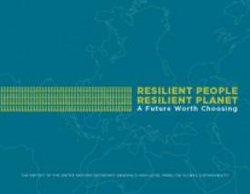 """Clique aqui para baixar o relatório """"Resilient People, Resilient Planet: A Future Worth Choosing"""""""