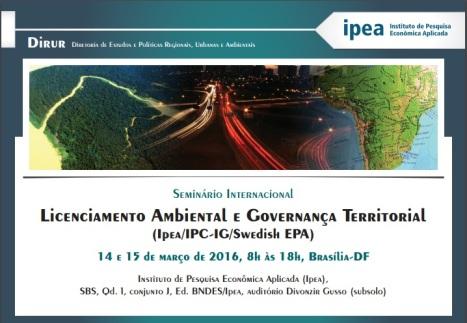 seminario ipea licenciamento